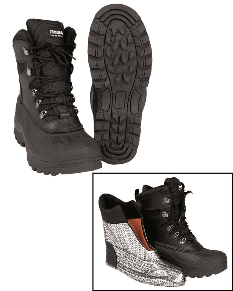 e12d7826b53 ... ccc obuv damska •. Boty kožené-gumové Thinsulate - černé