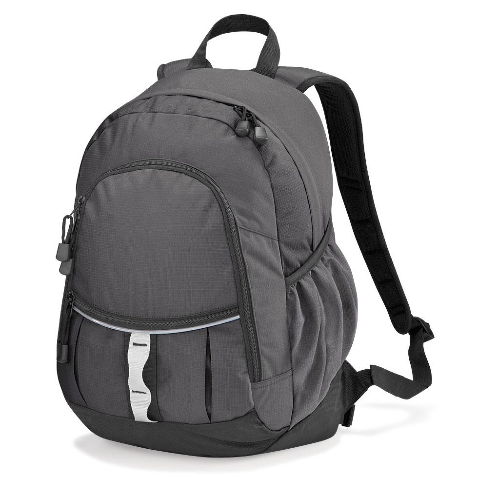 Mnohofunkční batoh Quadra - tmavě šedý d274681e14