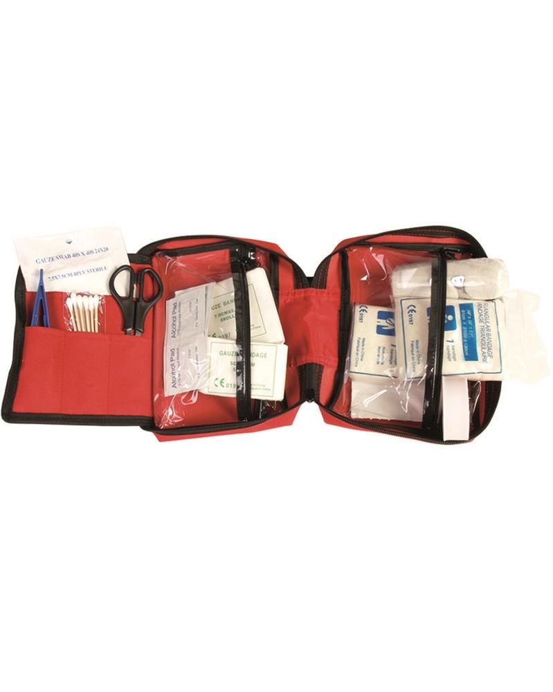 Lékárnička s vybavením velká - červená