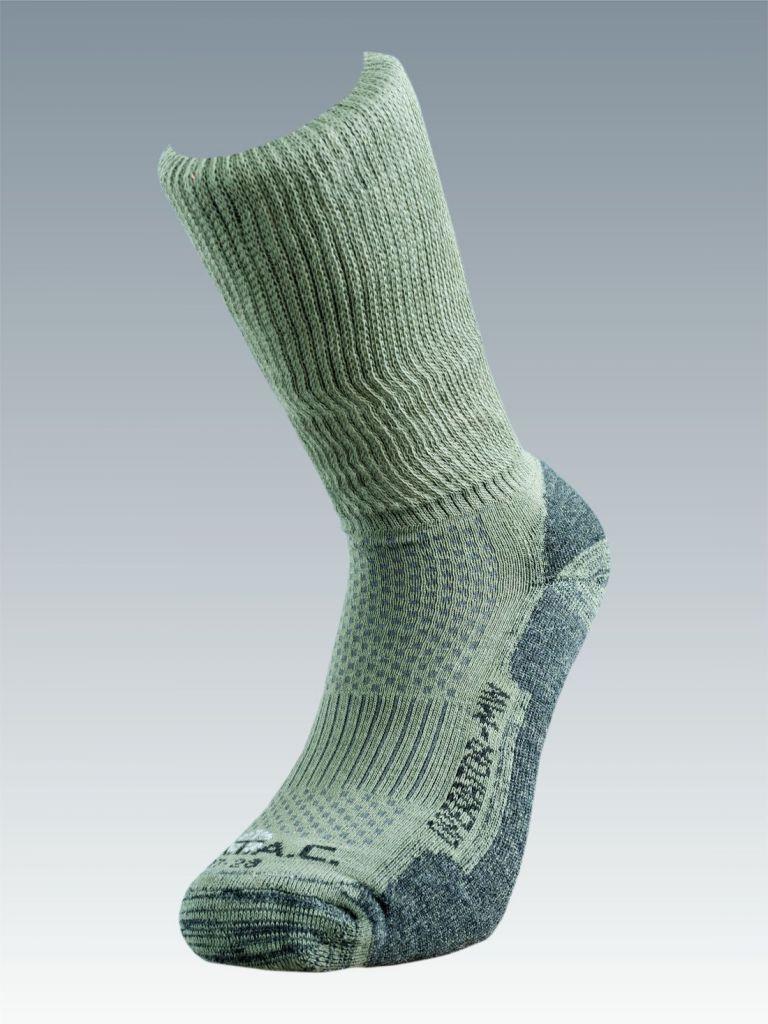 42ecb4068ed Ponožky se stříbrem Batac Operator Merino - olivové