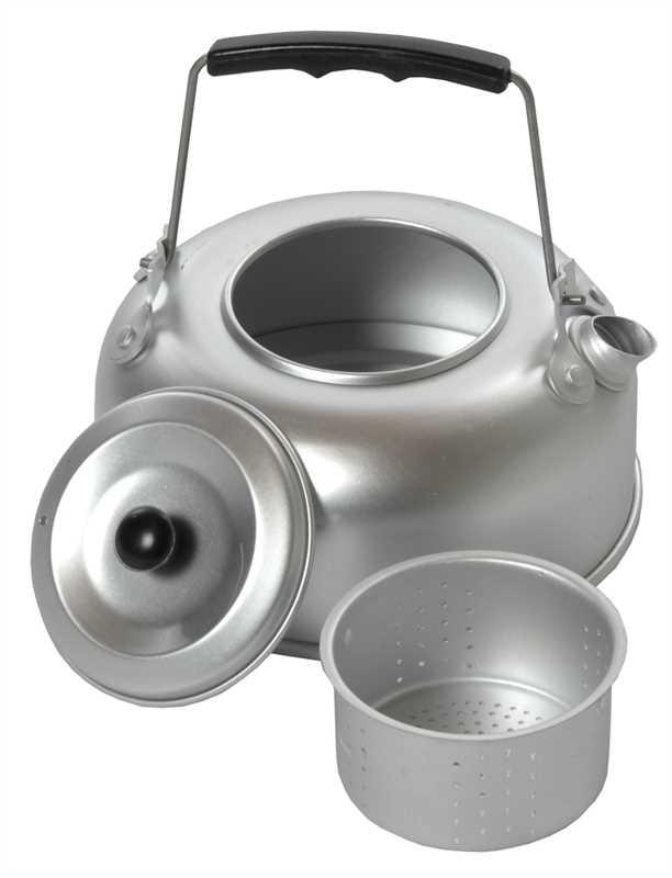 Čajník hliníkový se sítkem