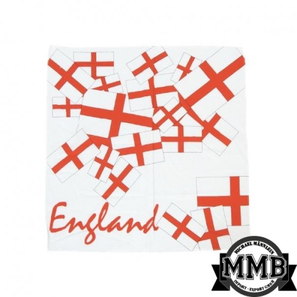 Šátek Bandana MMB England - červený 558a554a08