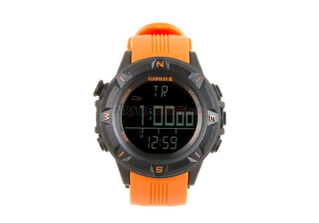 Hodinky Claw Gear Mission Sensor II - oranžové