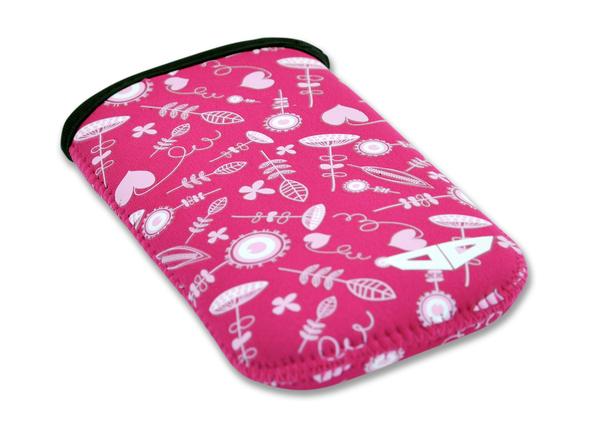 Obal na mobilní telefon Woox Blossom - růžový