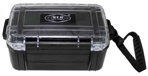 Box vodotěsný s provázkem MFH - černý