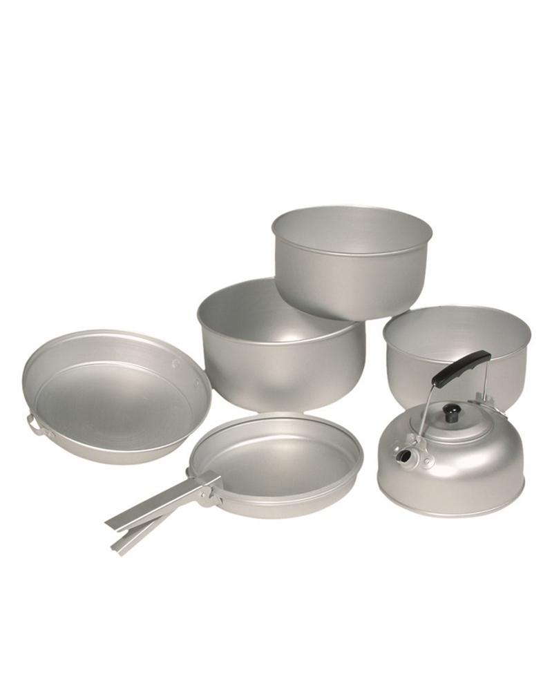 3 dílná sada nádobí na vaření s konvicí