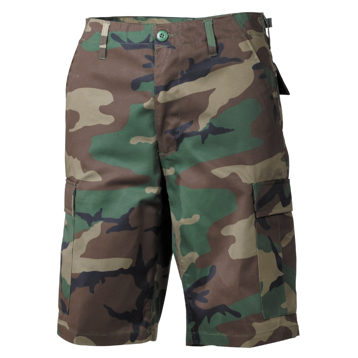 0ca5edf2695 Krátké kalhoty MFH US BDU Bermuda - woodland