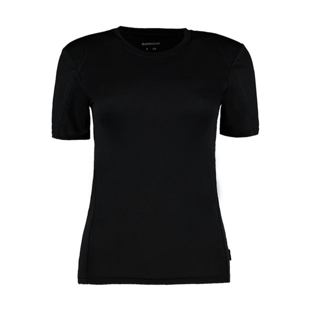 Tričko dámské Gamegear Cooltex - černé 304687fef6