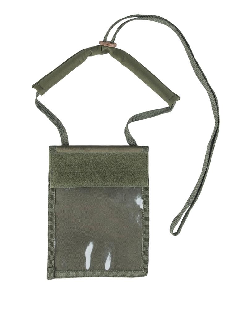 0bdd0fe6b0 Peněženka na krk Mil-Tec Neck - olivová