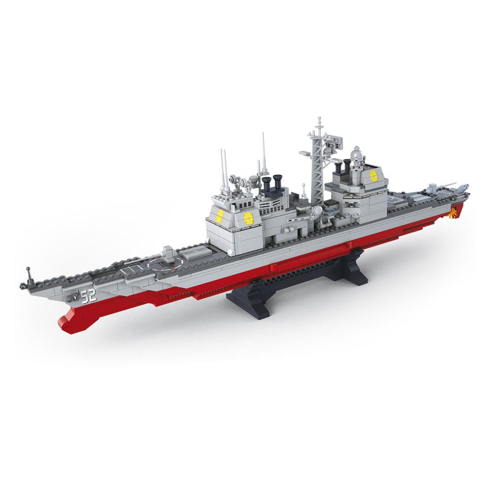 Stavebnice Sluban Army Bitevní loď Křižník M38-B0389