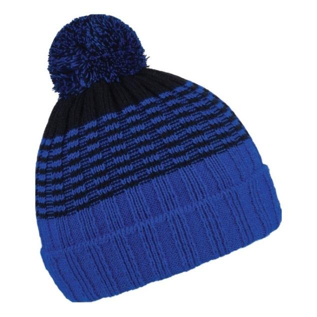 Čepice zimní CoFEE Street Retro - modrá 0879dc07b0