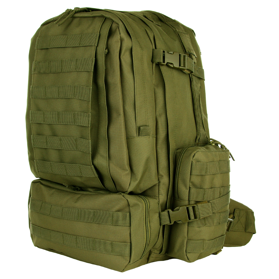 Batoh 101 Inc Assault Pack 3-Days 60 L - olivový