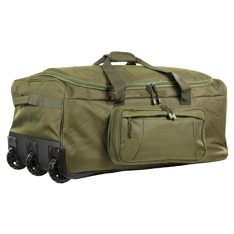 Taška na kolečkách 101 Inc Commando 124 L - olivová