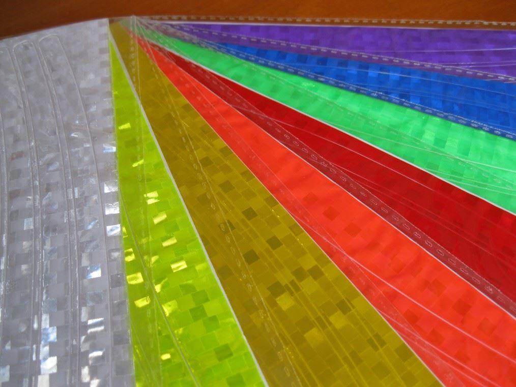 Reflexní páska na kolo - žlutá