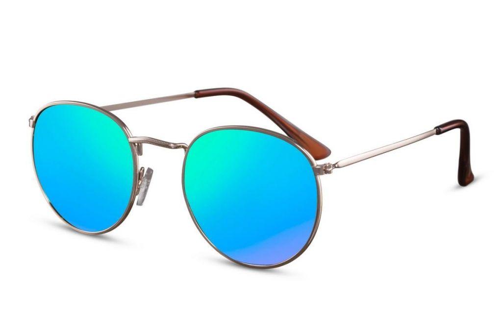 078c768ca Sluneční brýle Solo Lenonky - zlaté-modré