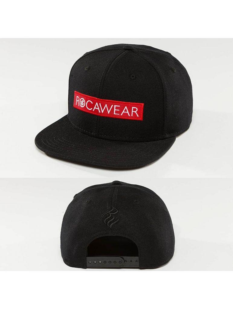 6130d3bdbc1 Kšiltovka RocaWear Snapback Logo - černá