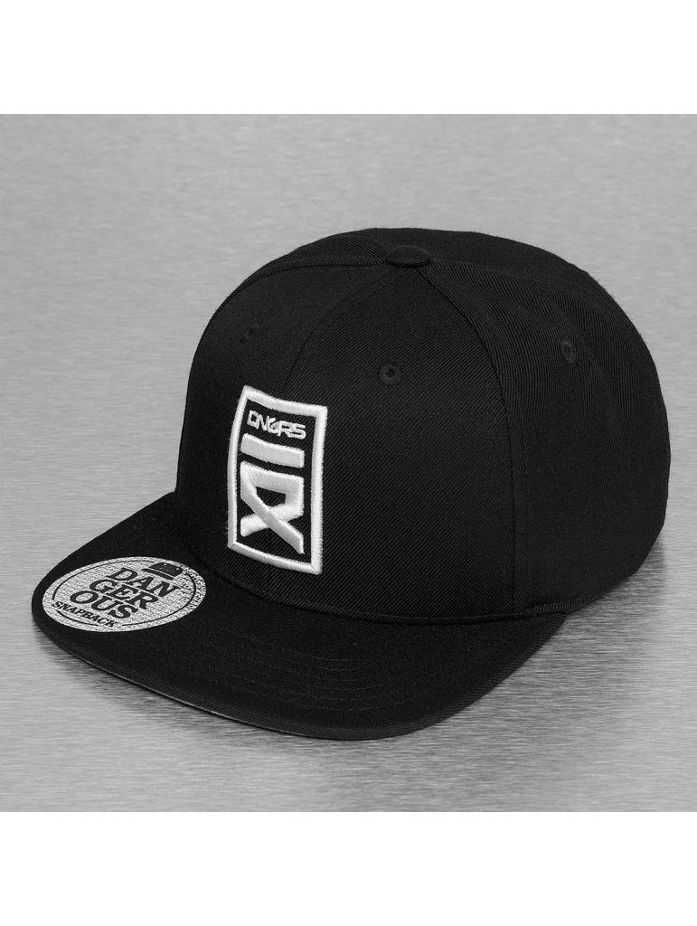 469dd418cba Kšiltovka DNGRS Snapback Cap Logo - černá