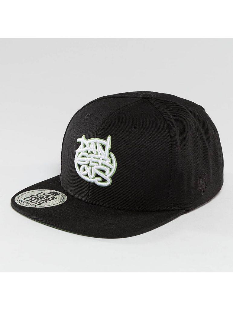 d75b2ce0c19 Kšiltovka DNGRS Snapback LGNDZ Logo - černá-zelená