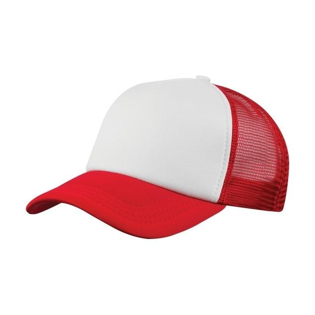 2e229349b54 Kšiltovka CoFEE Trucker - červená-bílá