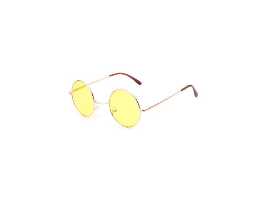 Slnečné okuliare Lenonky - žlté 0859592807e