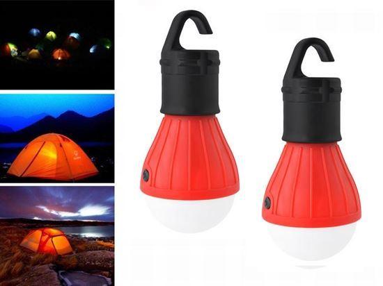LED žárovka Outdoor - červená