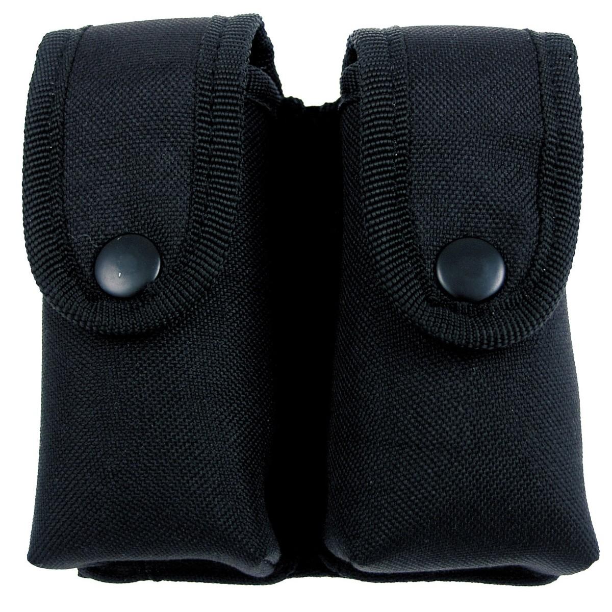 Pouzdro na dva zásobníky MFH Security - černé