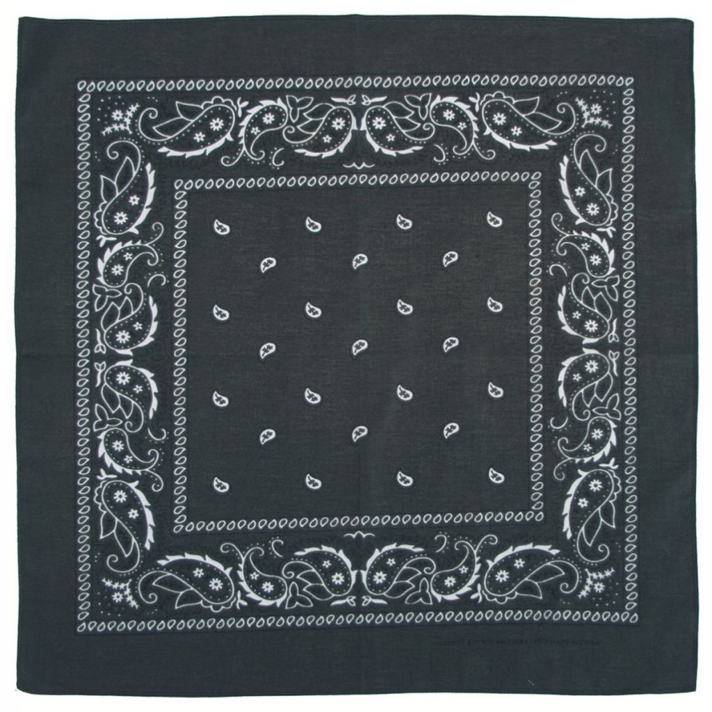 Bandana šátek - zelený c61c0301b7