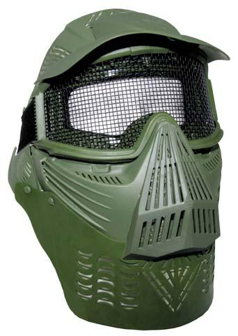 Maska Airsoft - olivová
