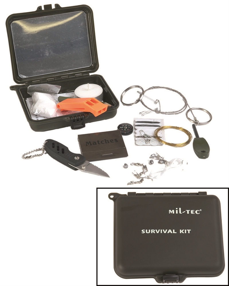 KPZ krabička poslední záchrany Survival Kit
