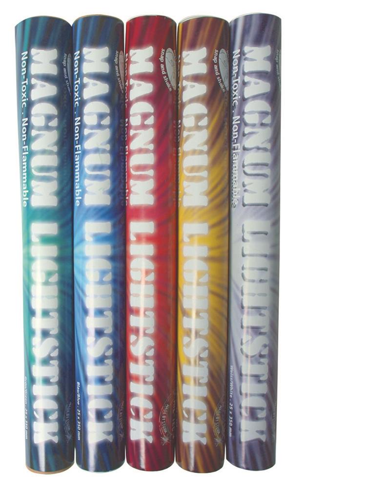 Svítící tyčinka 36x2,5 cm - modrá