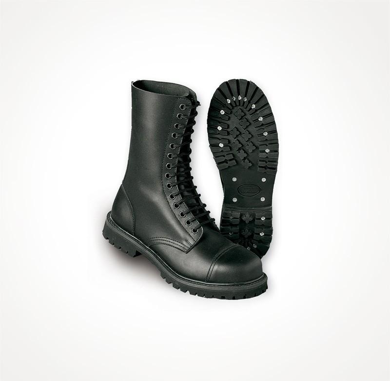 Kožené boty Surplus Undercover 14 - černé 274ed92762