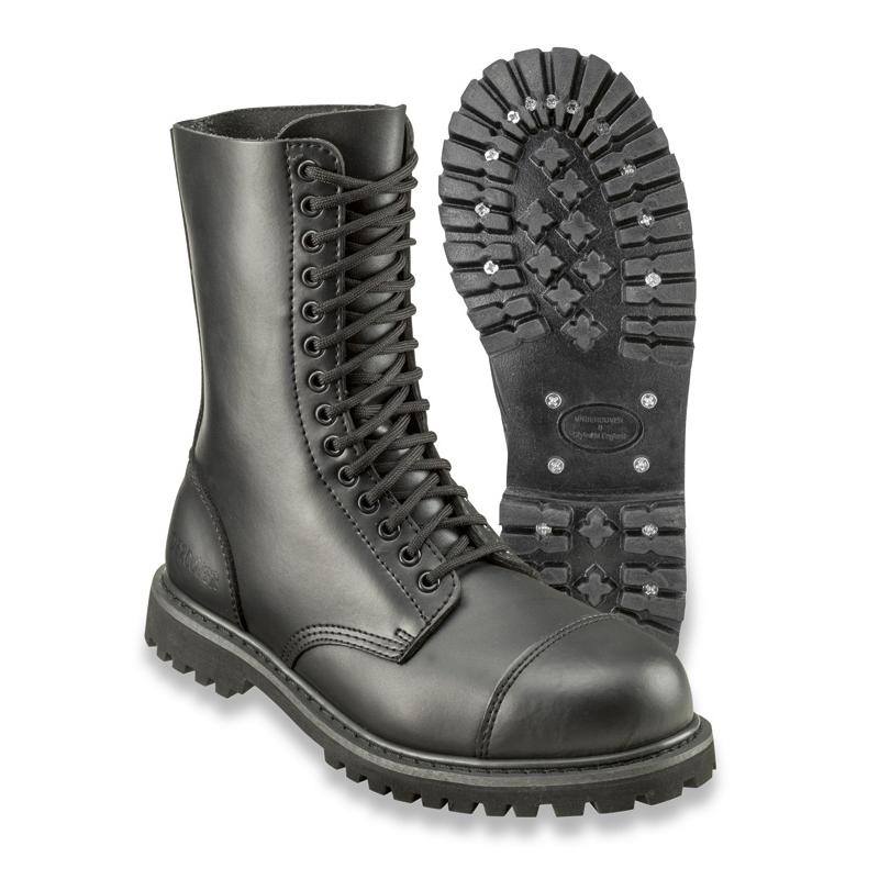 Kožené boty Surplus Undercover 14 - černé