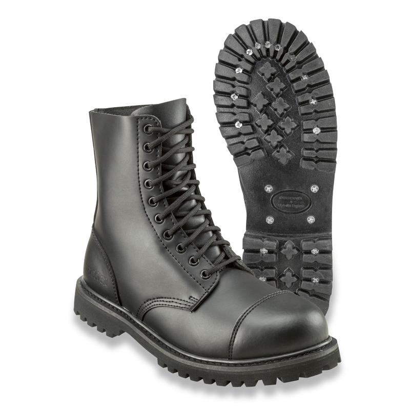 Kožené boty Surplus Undercover 10 - černé