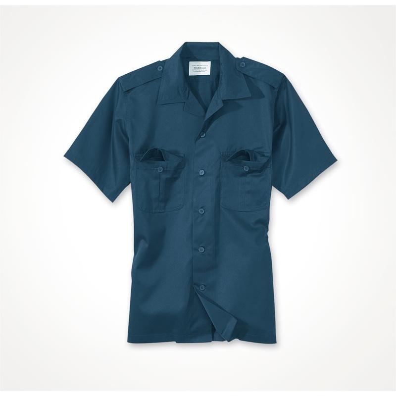 Košile US s krátkým rukávem - navy