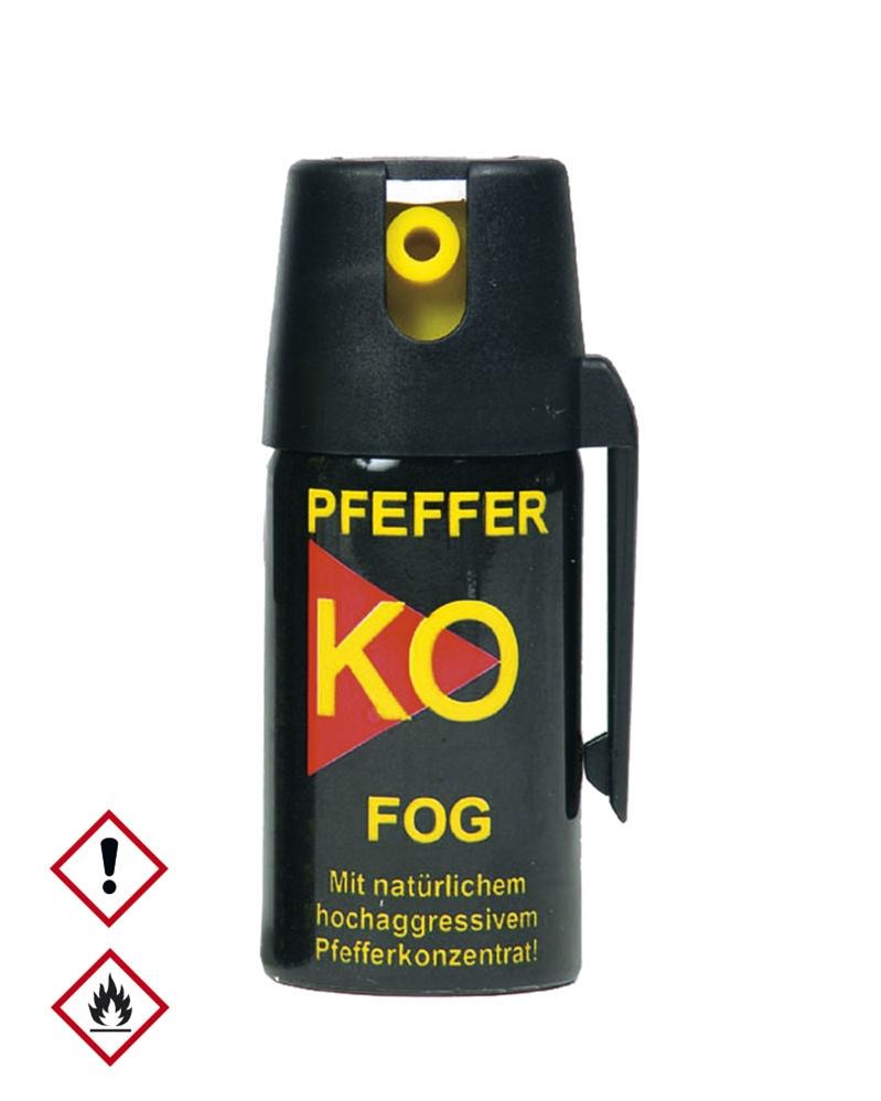 Obranný sprej pepřový KO FOG 40 ml (18+)