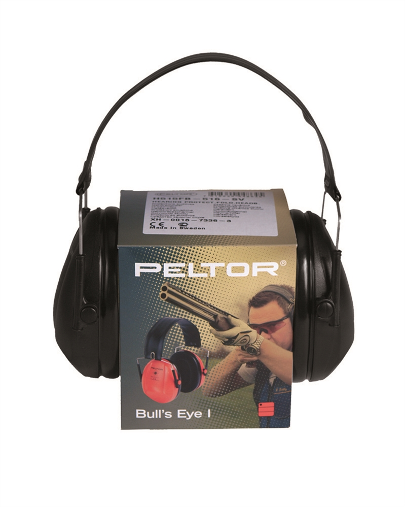 Střelecké chrániče sluchu Peltor Bulls Eye I - černé