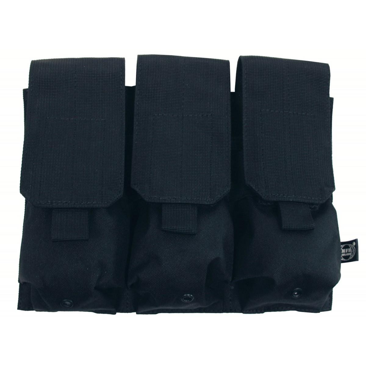 Kapsa na 3 zásobníky Molle - černá