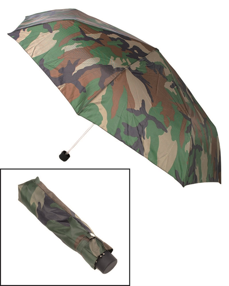 Deštník skládací - woodland