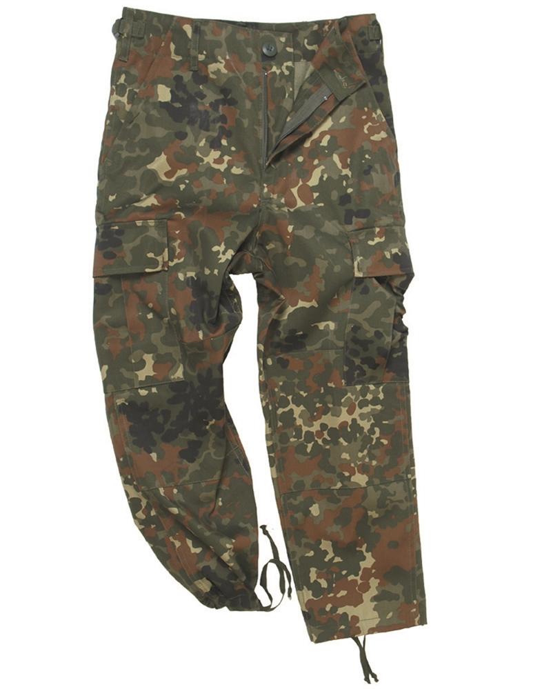 Kalhoty dětské US BDU - flecktarn