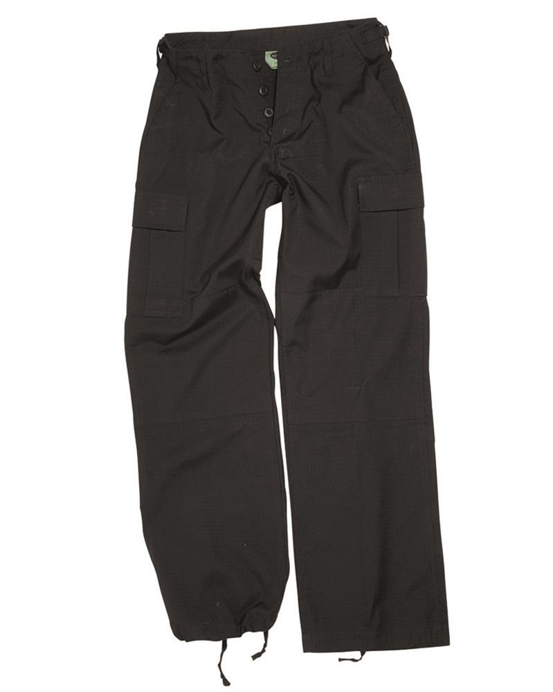 Kalhoty dámské US BDU - černé