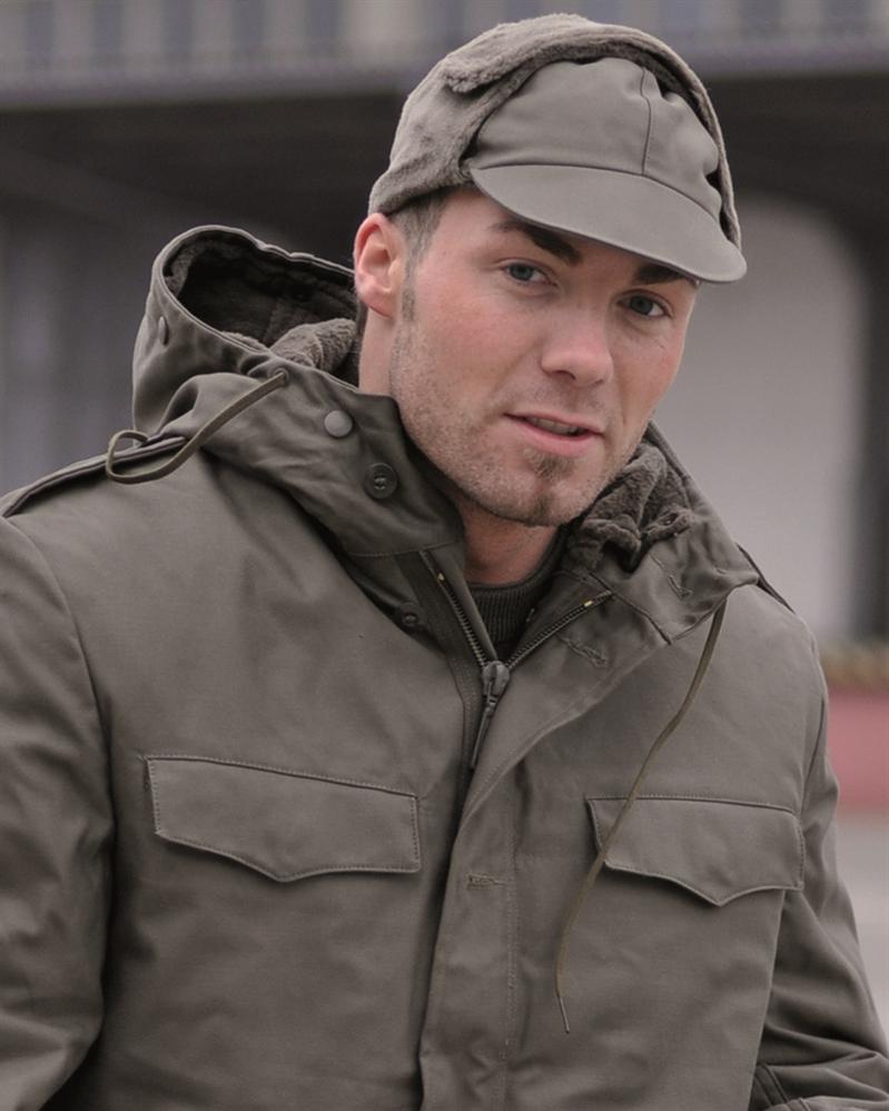 Čepice s kšiltem BW zimní - olivová