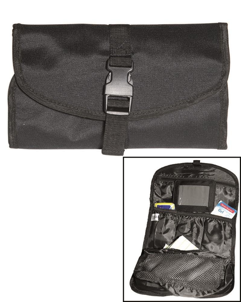 Toaletní taška Mil-Tec - černá