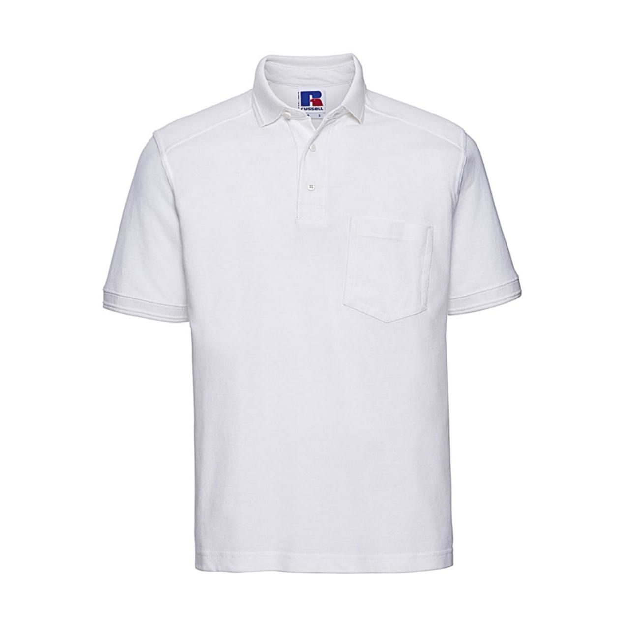 ee05d74ca219 Pánska pracovná polokošeľa Russell - biela - Pracovné odevy ...