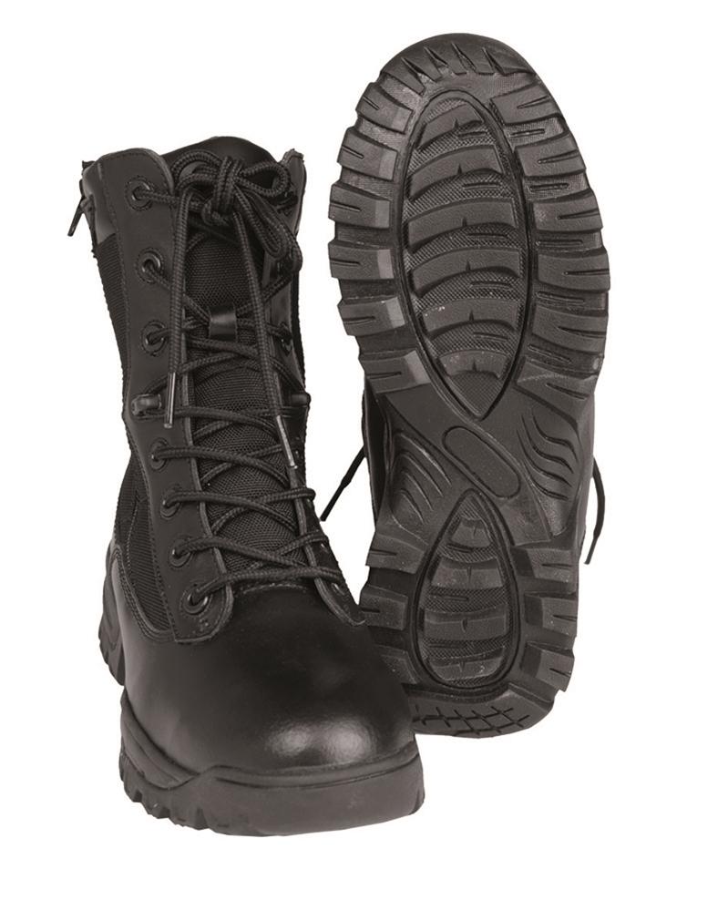 Boty Mil-Tec Tactical - černé