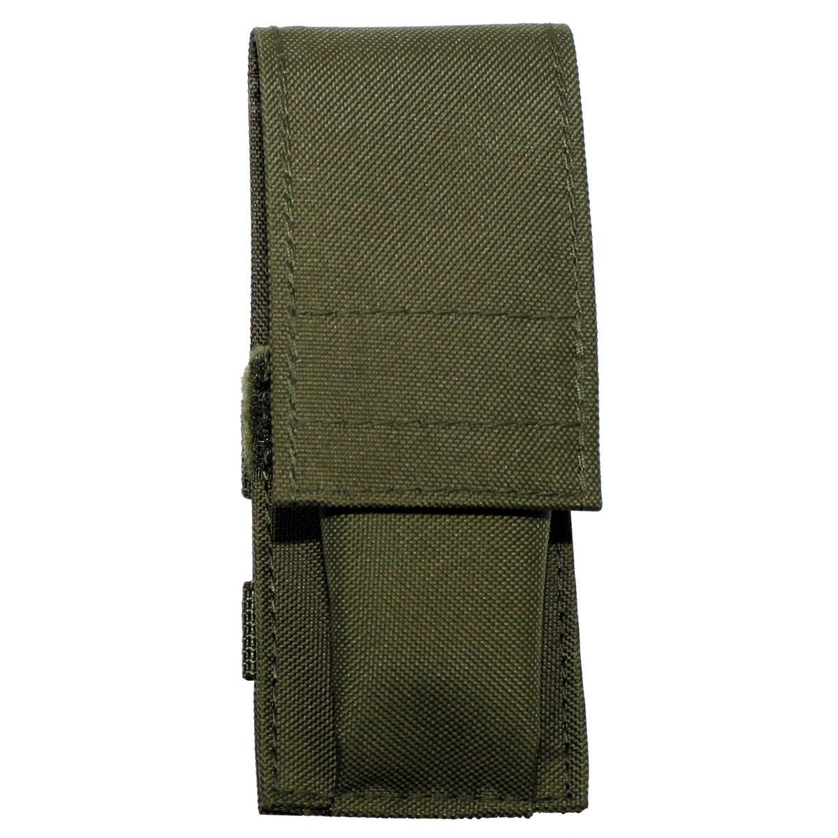 Textilní pouzdro na nůž - olivový 30b508ea9d