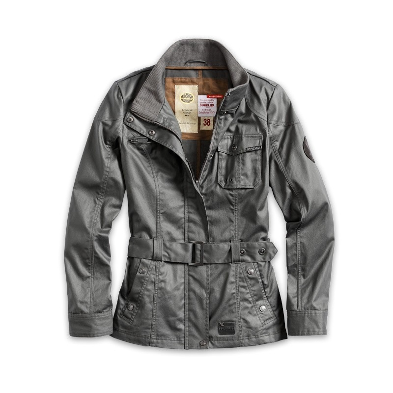 Bunda Armored Jacket Woman - šedá