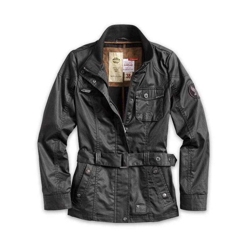 Bunda Armored Jacket Woman - černá