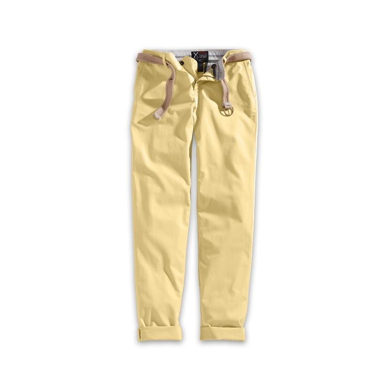 Kalhoty Xylontum Chino Trousers Woman - béžové