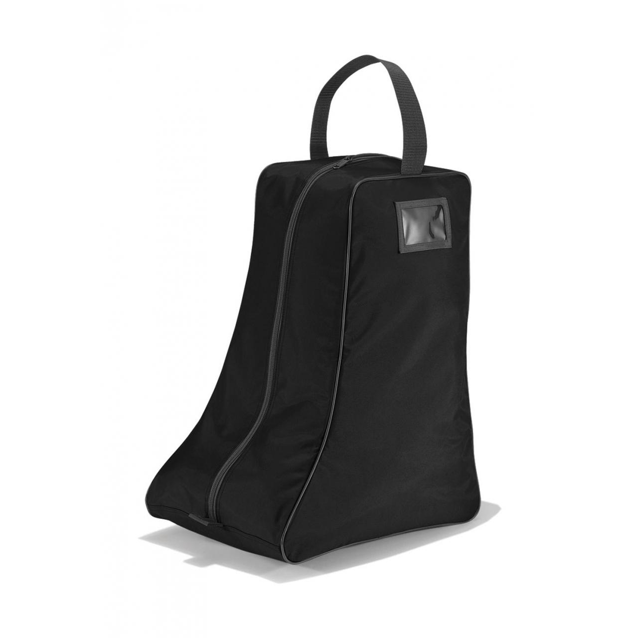 Taška na boty vysoká Quadra - černá