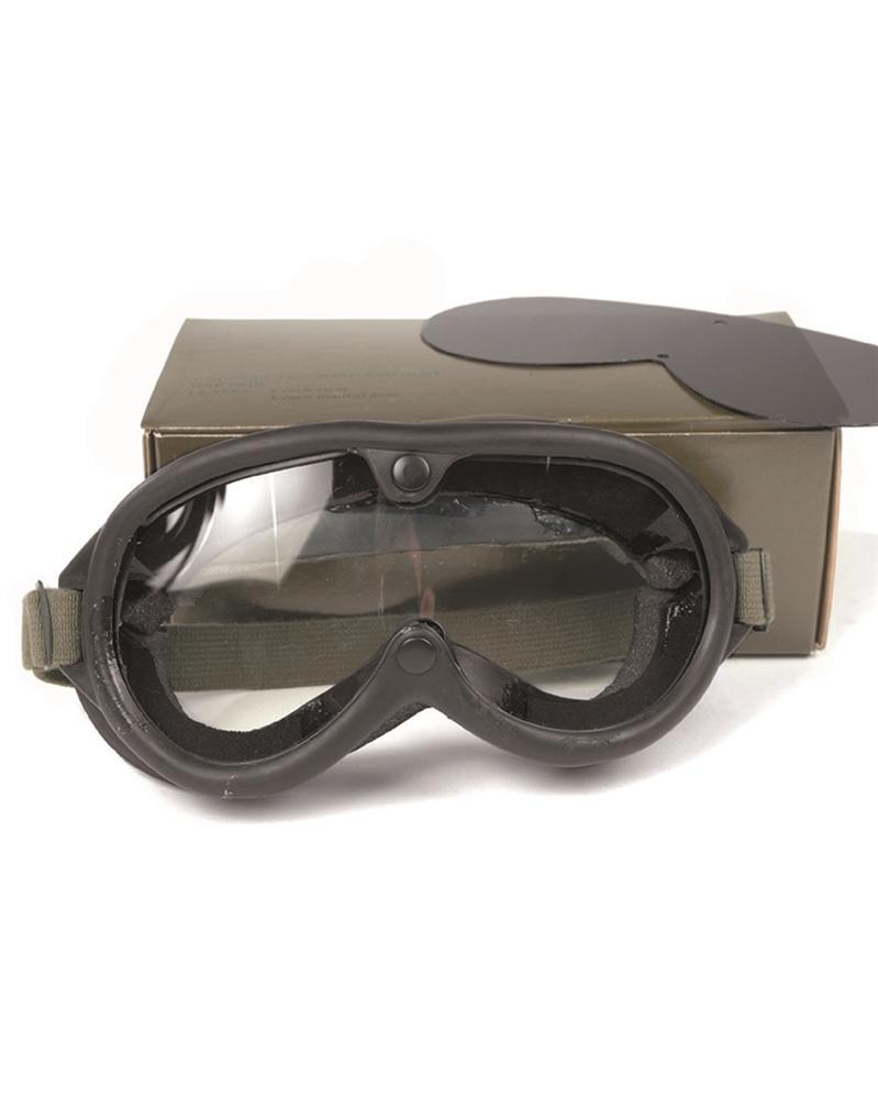 Brýle taktické US M44 v krabičce - černé